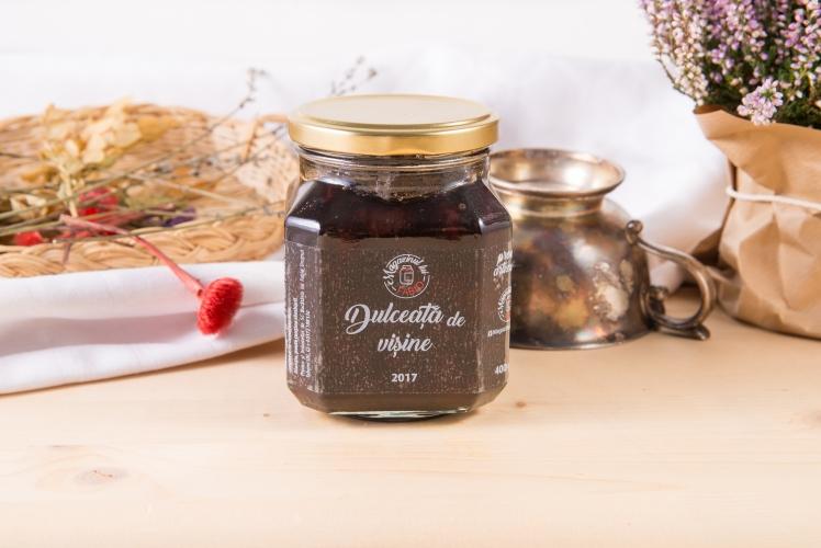Dulceata de visine cu vanilie