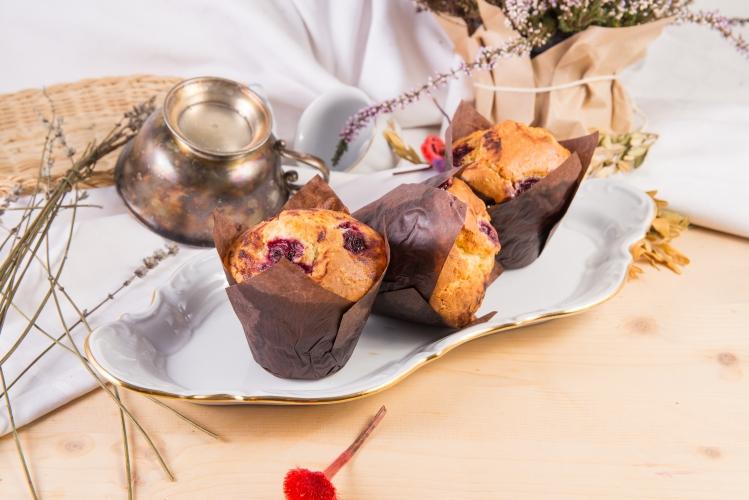 Muffin cu visine